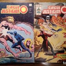 Cómics: CIRCULO JUSTICIERO NºS 7 Y 8. MUNDICOMICS V 1. EDICIONES VERTICE. 1978. Lote 119035535