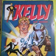 Cómics: KELLY Nº 7 Y 9 OJO MÁGICO VÉRTICE LINEA SURCO 2 COMICS NUEVOS 1981. Lote 119230683