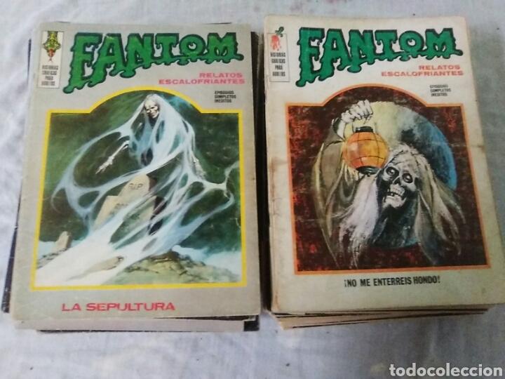 FANTOM VOL. 1. 37 NÚMEROS. A FALTA DEL N. 29. VERTICE (Tebeos y Comics - Vértice - Terror)