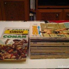 Cómics: CONAN EL BARBARO - VERTICE - VOLUMEN 2 - COMPLETA - 43 NUMEROS + 3 ESPECIALES - MBE - CJ85 - GORBAUD. Lote 119300935