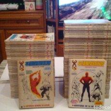 Cómics: LOS 4 FANTASTICOS - VERTICE - VOLUMEN 1 - COLECCION COMPLETA - 67 NROS + 2 ESPECIALES -MBE-EXCELENTE. Lote 119325599