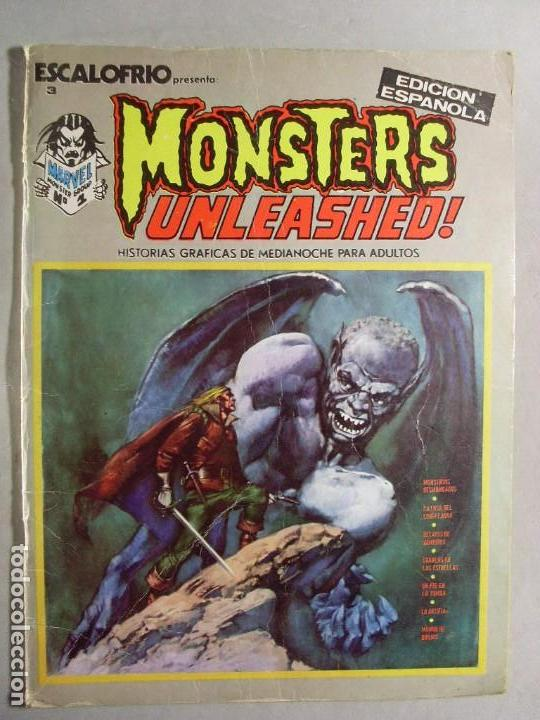 ESCALOFRÍO 3 /MONSTERS UNLEASHED Nº1 / 1973 (Tebeos y Comics - Vértice - Terror)