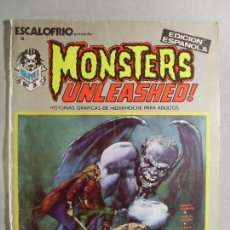 Cómics: ESCALOFRÍO 3 /MONSTERS UNLEASHED Nº1 / 1973. Lote 119391359