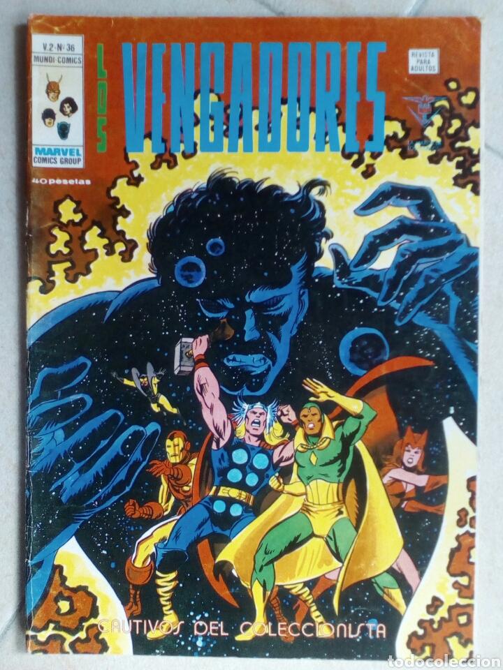 LOS VENGADORES V.2 Nº 36 DE VERTICE (Tebeos y Comics - Vértice - Vengadores)