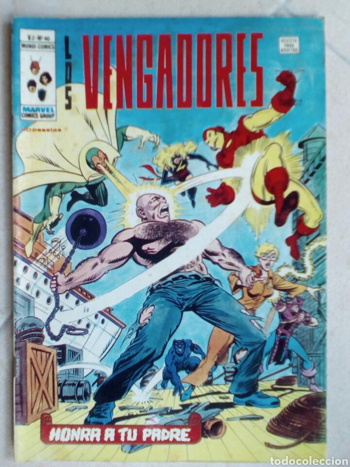 LOS VENGADORES V.2 Nº 40 DE VERTICE (Tebeos y Comics - Vértice - Vengadores)