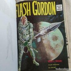 Cómics: FLASH GORDON VÉRTICE VOL 1 COMPLETA 1-44 PERFECTO ESTADO ENCUADERNADA 5 TOMOS. Lote 119606779