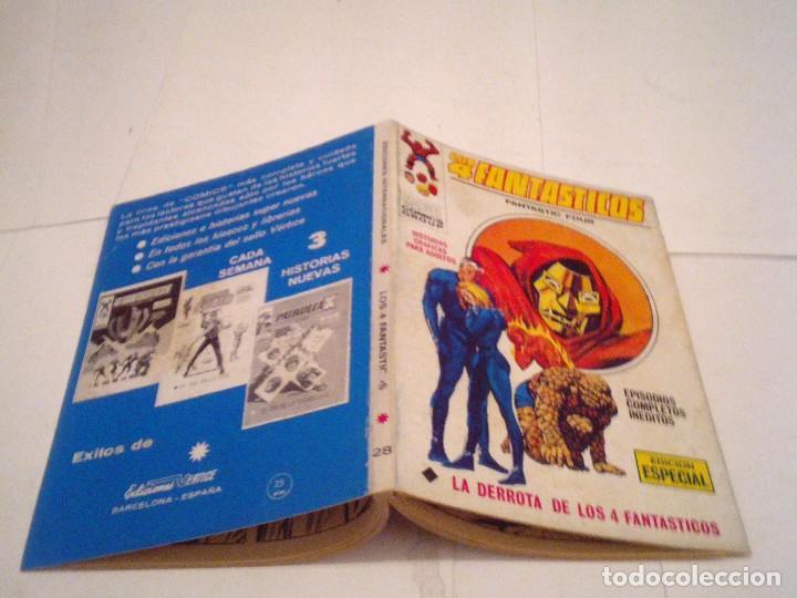 Cómics: LOS 4 FANTASTICOS - VERTICE - VOLUMEN 1 - NUMERO 28 - BUEN ESTADO - CJ 104 - GORBAUD - Foto 5 - 120013731