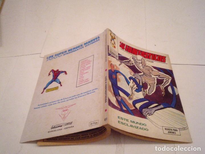 Cómics: LOS 4 FANTASTICOS - VERTICE - VOLUMEN 1 - NUMERO 61 - MUY BUEN ESTADO - CJ 104 - GORBAUD - Foto 6 - 120013795