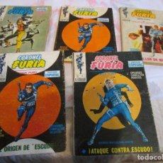 Cómics: CORONEL FURIA - 2 -5 - 11 - 13. Lote 120039879