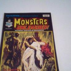Comics: ESCALOFRIO - VERTICE - NUMERO 40 - MONSTERS UNLEASHED - NUMERO 11- VERTICE - BUEN ESTADO - CJ 86. Lote 120122335
