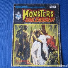 Cómics: ESCALOFRIO PRESENTA Nº 40, MONSTERS UNLEASHED! - ED. VERTICE. Lote 163738962
