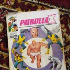 Cómics: PATRULLA X, X-MEN- EL TERRIBLE SUPERHOMBRE, COMIC GROUP-MARVEL, VERTICE- N°3.. Lote 120242592