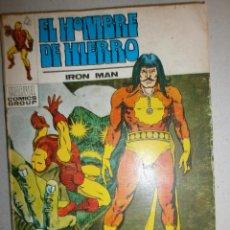 Cómics: HOMBRE DE HIERRO N 27 RAGA, EL HIJO DEL FUEGO ED. VERTICE 1973. Lote 120429971