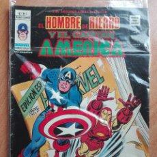 Cómics: EL HOMBRE DE HIERRO Y EL CAPITAN AMERICA.VOLUMEN 1 NUMERO 7. Lote 120477203