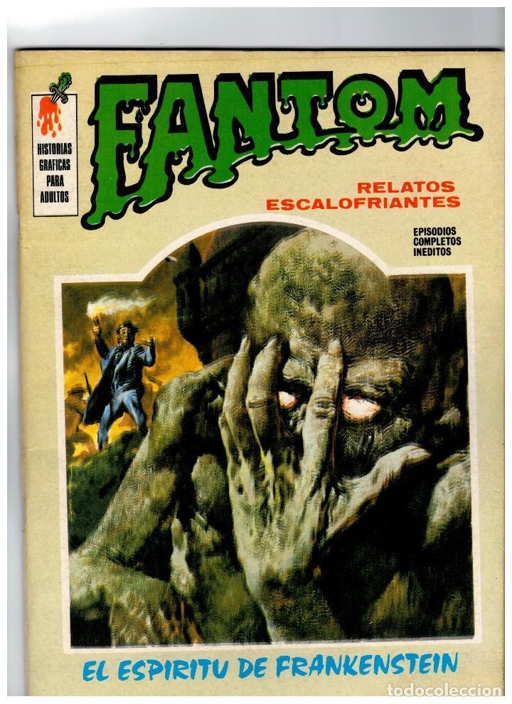 FANTOM Nº 5 VÉRTICE 1972 (Tebeos y Comics - Vértice - Terror)