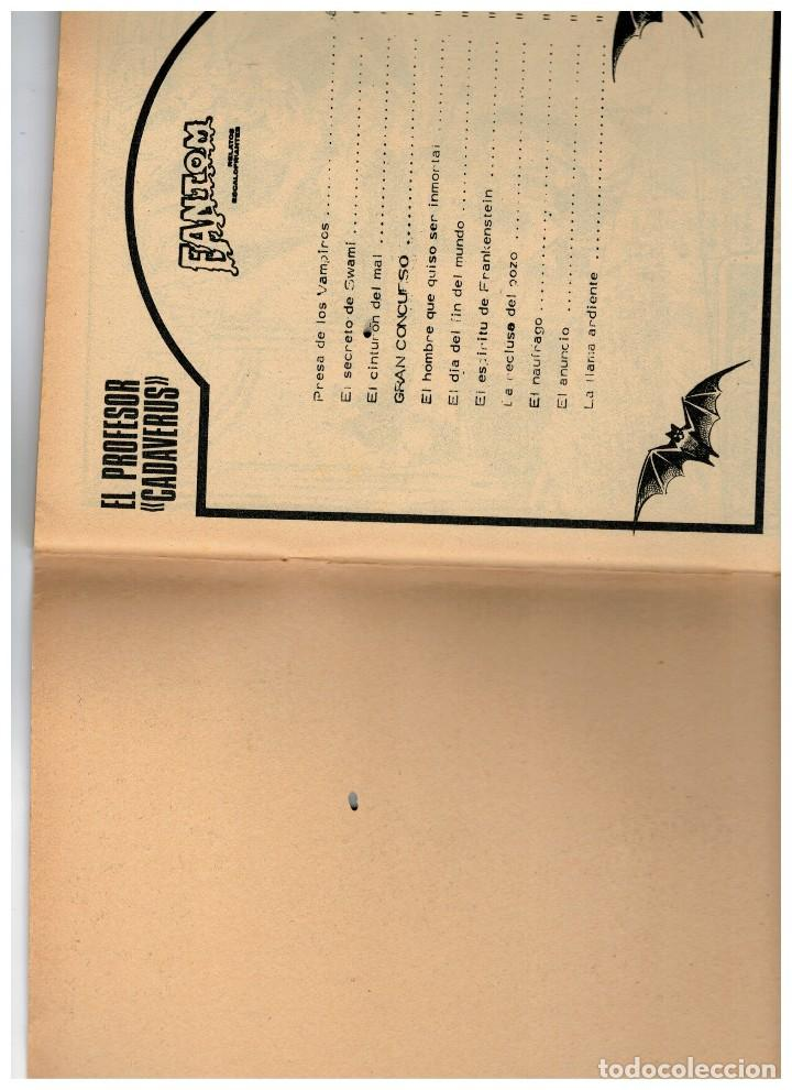 Cómics: FANTOM Nº 5 VÉRTICE 1972 - Foto 2 - 120577855