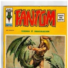 Cómics: FANTOM V.2 Nº 8 VÉRTICE 1974 -MUY BUENO-. Lote 120579427
