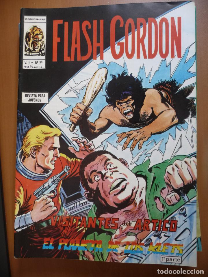 Cómics: FLASH GORDON. VÉRTICE. VOL 1. COMPLETA!! - Foto 37 - 120584807