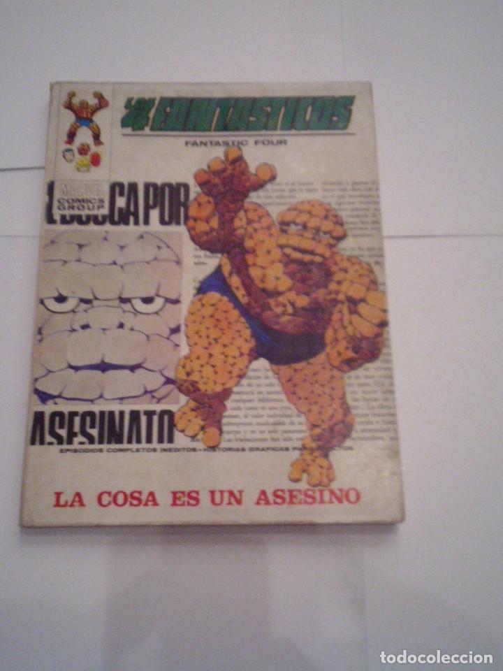 LOS 4 FANTASTICOS - VERTICE - VOLUMEN 1 - NUMERO 46 - MUY BUEN ESTADO - GORBAUD - CJ 104 (Tebeos y Comics - Vértice - 4 Fantásticos)