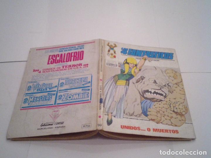 Cómics: LOS 4 FANTASTICOS - VERTICE - VOLUMEN 1 - NUMERO 59 - MUY BUEN ESTADO - GORBAUD - cj 104 - Foto 5 - 120703071