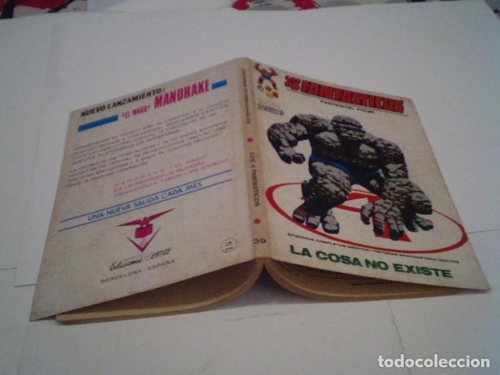 Cómics: LOS 4 FANTASTICOS - VERTICE - VOLUMEN 1 - NUMERO 39 - BUEN ESTADO - CJ 104 - GORBAUD - Foto 6 - 120703567