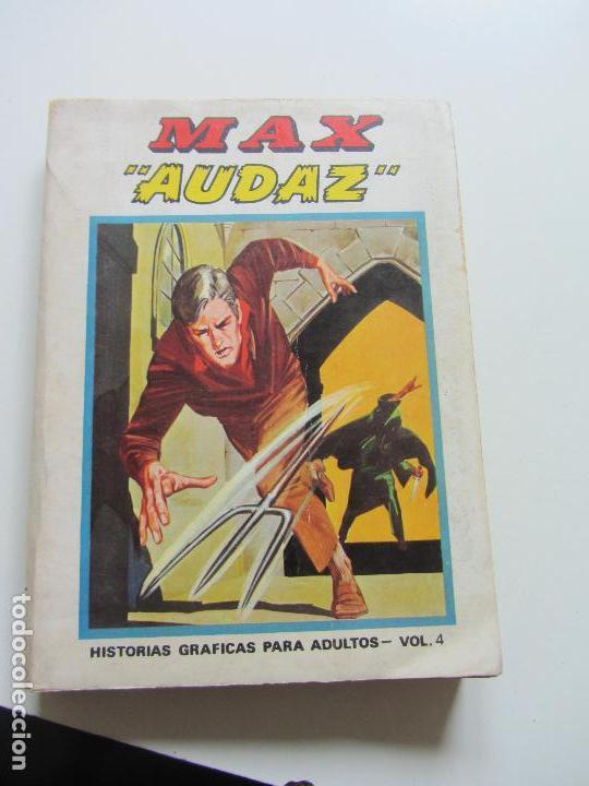 MAX AUDAZ VOL 1. Nº 4 - EDICIÓN ESPECIAL - TACO VÉRTICE - 1971.DIFICIL BUEN ESTADO ETEX (Tebeos y Comics - Vértice - V.1)