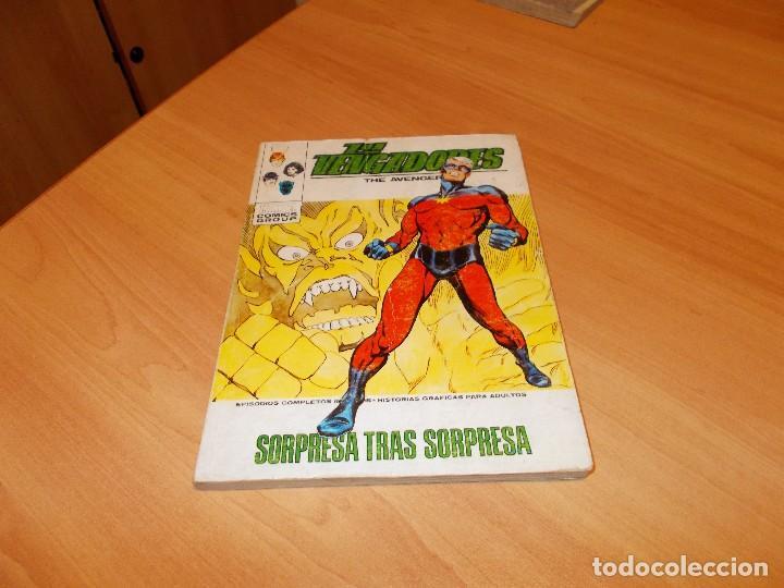 LOS VENGADORES V.1 Nº 43 (Tebeos y Comics - Vértice - Vengadores)