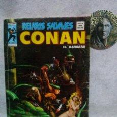Cómics: RELATOS SALVAJES Nº 40 CONAN EL BARBARO LOS DIOSES DE BAL-SAGOTH...CON SEÑALES DE USO.. Lote 120864631