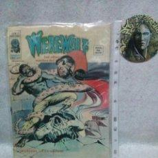 Cómics: WEREWOLF - V.2 Nº 13 - *MARCOSA EN LA MUERTE* - VERTICE - AÑO 1976...USADO-PORTADA DESCOLORIDA.. Lote 120973483
