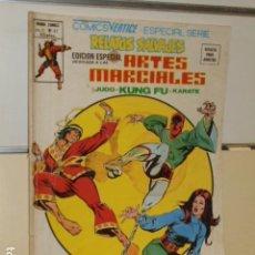 Cómics: RELATOS SALVAJES VOL. 1 Nº 47 ARTES MARCIALES HEROES DEL PASADO Y BATALLAS DEL PRESENTE - VERTICE. Lote 121102119