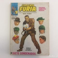 Cómics - VERTICE TACO - SARGENTO FURIA - SIETE CONDENADOS Nº 1 (MARVEL COMIC GROUP) - 121108115