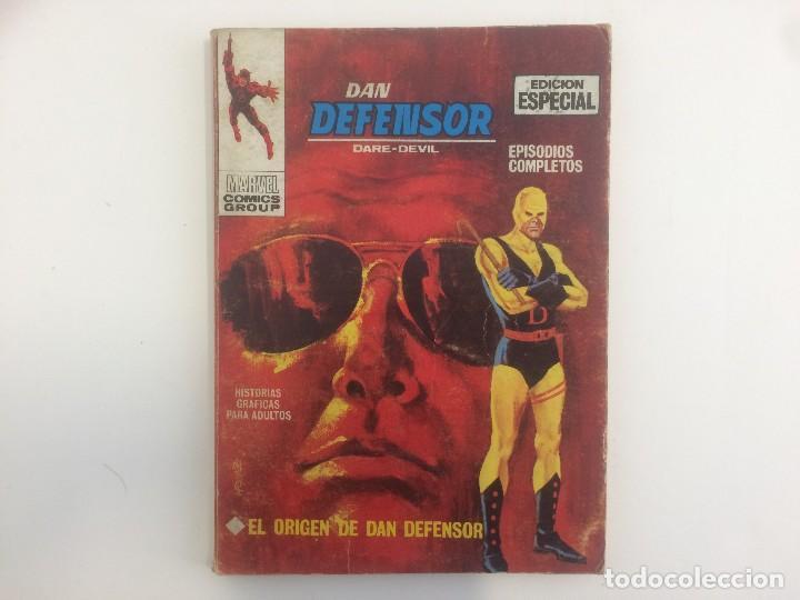 VERTICE TACO - DAN DEFENSOR - EL ORIGEN DE DAN EFENSOR Nº 1 (MARVEL COMIC GROUP) (Tebeos y Comics - Vértice - Dan Defensor)