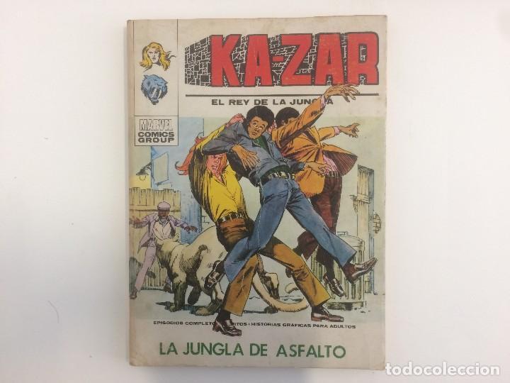 VERTICE TACO - KA-ZAR - LA JUNGLA DE ASFALTO Nº 5 (MARVEL COMIC GROUP) (Tebeos y Comics - Vértice - Otros)