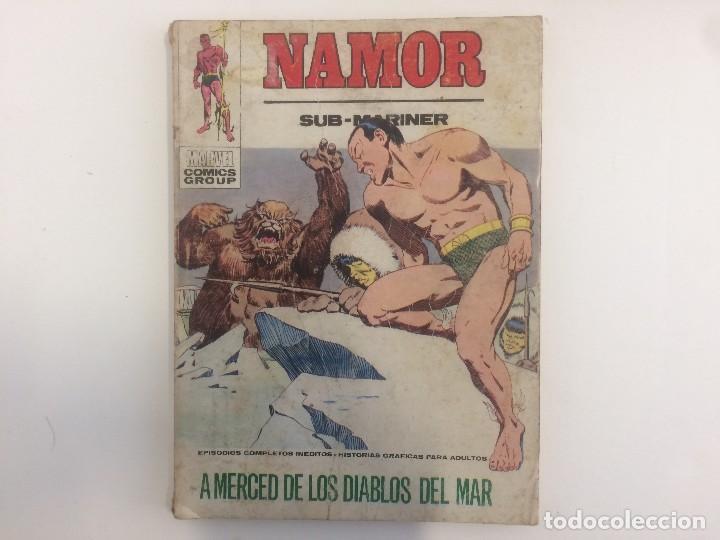 VERTICE TACO - NAMOR - A MERCED DE LOS DIABLOS DEL MAR Nº 27 (MARVEL COMIC GROUP) (Tebeos y Comics - Vértice - Otros)