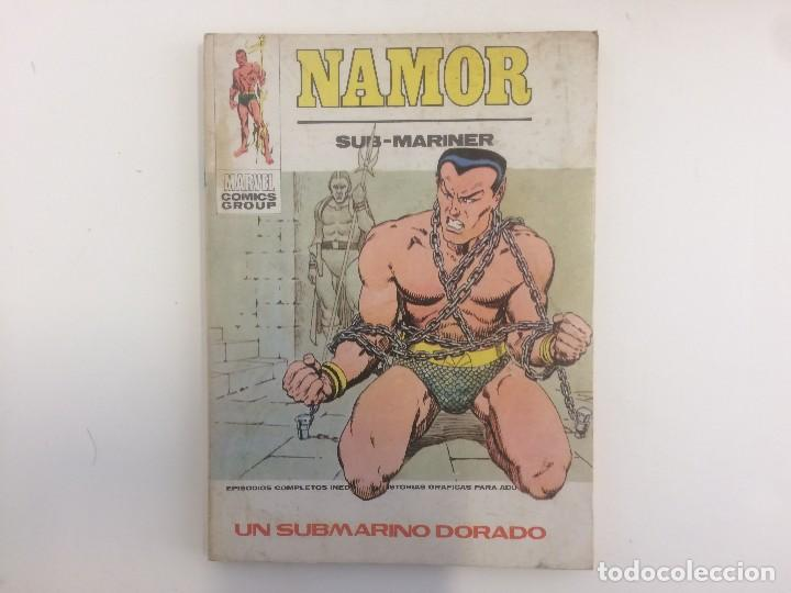 Cómics: VERTICE TACO - NAMOR - UN SUBMARINO DORADO Nº 32 (MARVEL COMIC GROUP) - Foto 1 - 121114755