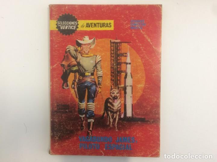 VERTICE TACO - SELECCIONES VERTICE DE AVENTURAS - VAGABUNDO JAMES, PILOTO ESPACIAL Nº 89 (Tebeos y Comics - Vértice - Otros)