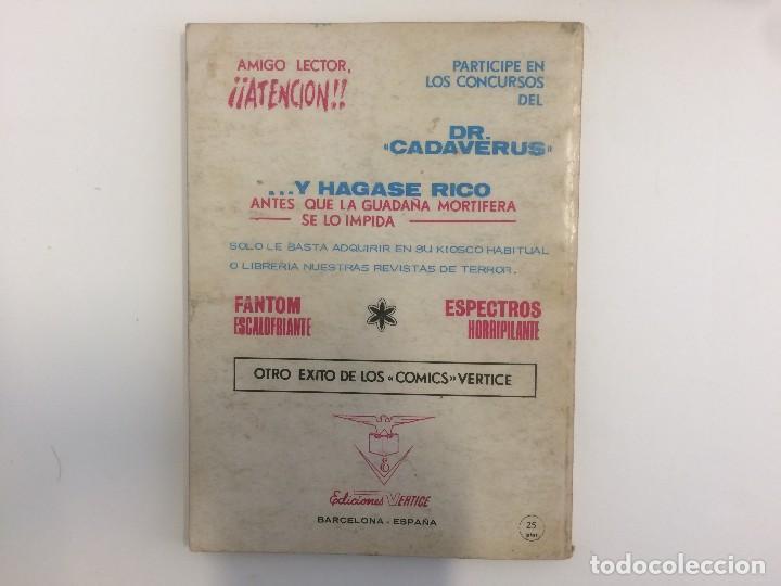Cómics: VERTICE TACO - SELECCIONES VERTICE DE AVENTURAS - VAGABUNDO JAMES, PILOTO ESPACIAL Nº 89 - Foto 2 - 121115423