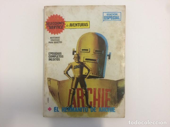 VERTICE TACO - SELECCIONES VERTICE DE AVENTURAS - ARCHIE - EL HERMANO DE ARCHIE Nº 34 (Tebeos y Comics - Vértice - Otros)