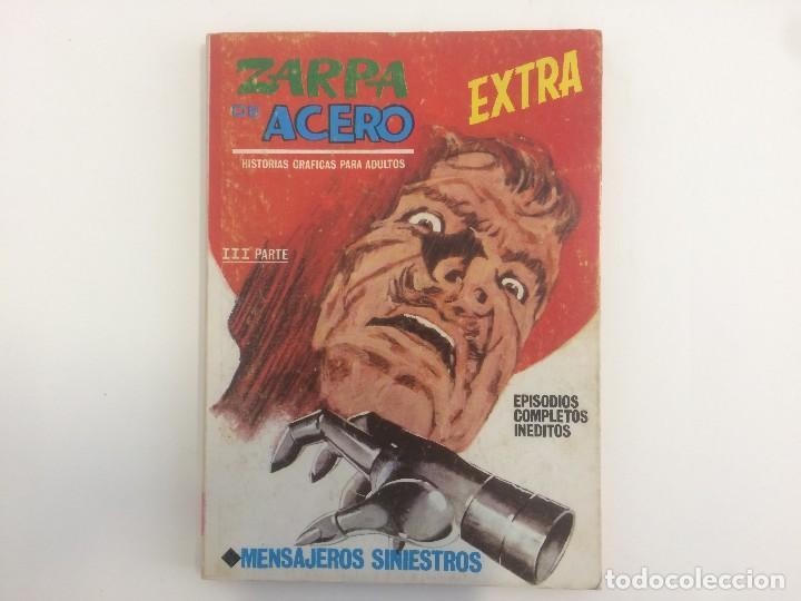 VERTICE TACO - ZARPA DE ACERO - MENSAJEROS SINIESTROS Nº 25 (Tebeos y Comics - Vértice - Otros)