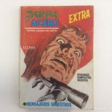 Cómics: VERTICE TACO - ZARPA DE ACERO - MENSAJEROS SINIESTROS Nº 25. Lote 209262492