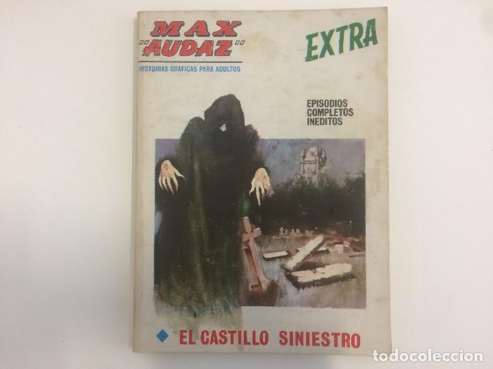 VERTICE TACO - MAX AUDAZ - EL CASTILLO SINIESTRO Nº 21 (Tebeos y Comics - Vértice - Otros)