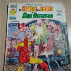 Cómics: HEROES MARVEL EL HOMBRE DE HIERRO Y DAN EL DEFENSOR V2 Nº26 AÑO 1974. Lote 121232971