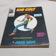 Cómics: KID COLT , JUEGO SUCIO .N 4 EDICIONES VERTICE. Lote 121282242
