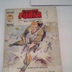 Cómics: SARGENTO FURIA - VERTICE - VOLUMEN 1- NUMERO 27 - CJ 87 - INCOMPLETO - GORBAUD. Lote 121495003