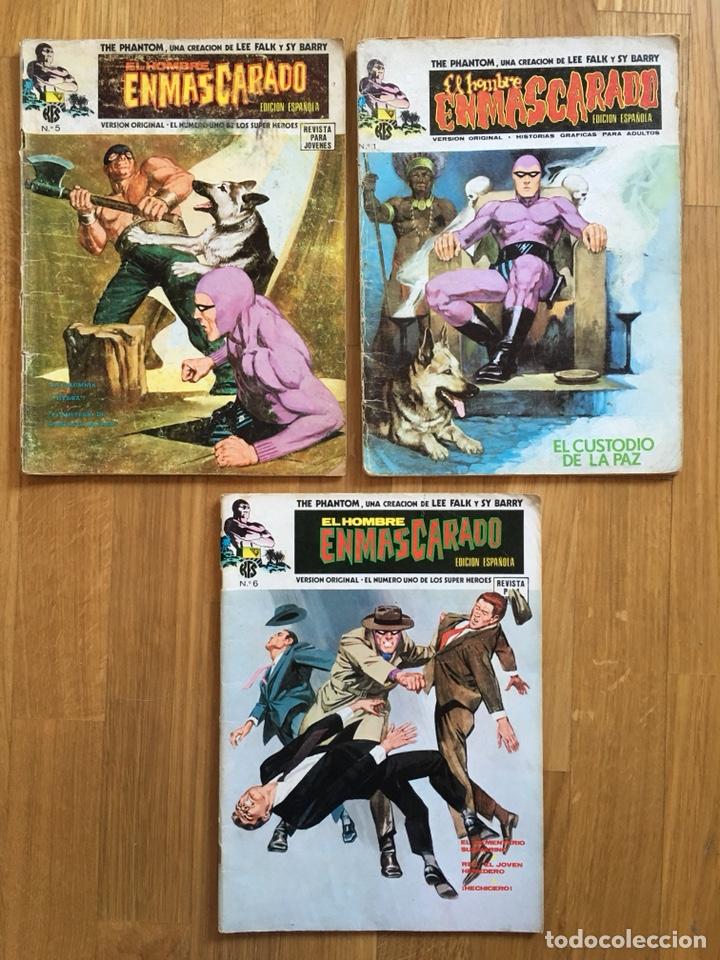 EL HOMBRE ENMASCARADO - VOLUMEN 1 - NÚMEROS 1, 5 Y 6 (Tebeos y Comics - Vértice - Hombre Enmascarado)