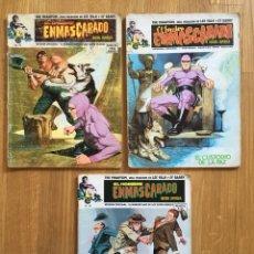 Cómics: EL HOMBRE ENMASCARADO - VOLUMEN 1 - NÚMEROS 1, 5 Y 6. Lote 121585248