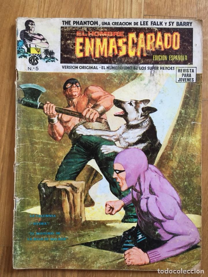 Cómics: EL HOMBRE ENMASCARADO - VOLUMEN 1 - NÚMEROS 1, 5 Y 6 - Foto 3 - 121585248