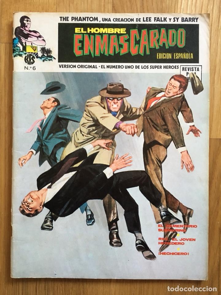 Cómics: EL HOMBRE ENMASCARADO - VOLUMEN 1 - NÚMEROS 1, 5 Y 6 - Foto 4 - 121585248
