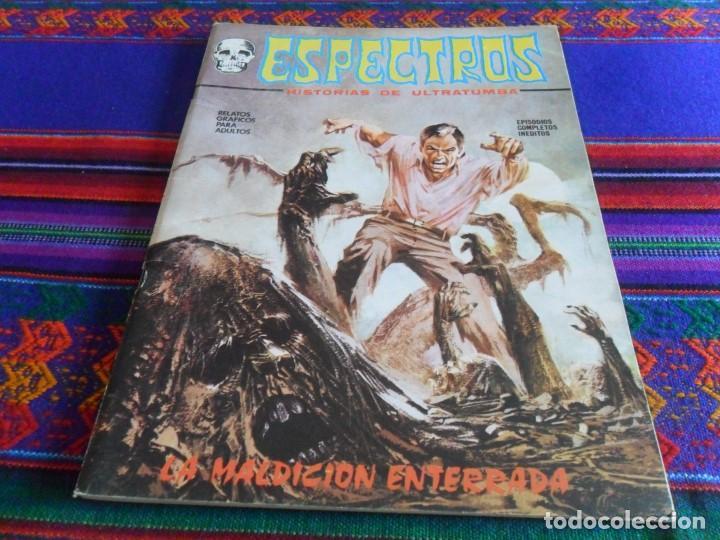 MUY BUEN ESTADO. VÉRTICE ESPECTROS Nº 7. 25 PTS. 1972. LA MALDICIÓN ENTERRADA. (Tebeos y Comics - Vértice - Terror)