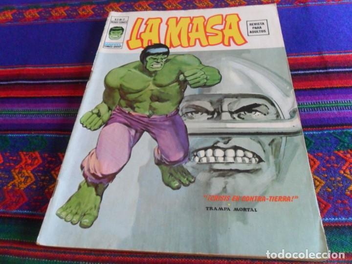 VÉRTICE VOL. 2 LA MASA Nº 2. 1974. 30 PTS. CRISIS EN CONTRA-TIERRA. DIFÍCIL Y BUEN ESTADO. (Tebeos y Comics - Vértice - La Masa)